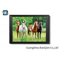 Buy cheap 0.6 MM Custom Size 3D Horse Pictures For Adverting / Decoration Three Filps from wholesalers