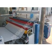 Wholesale Semi automatic tissue paper rolls rewinding machine efficient with embassing Function from china suppliers