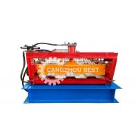 Buy cheap Low Noise Automatic Metal Floor Deck Roll Forming Machine For Popular Profile Machine from wholesalers