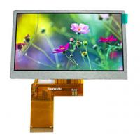 """Wholesale 4.3"""" TFT LCD screen with high luminance, 480*3(RGB)*272 resolution, RGB/MPU/SPI interface from china suppliers"""