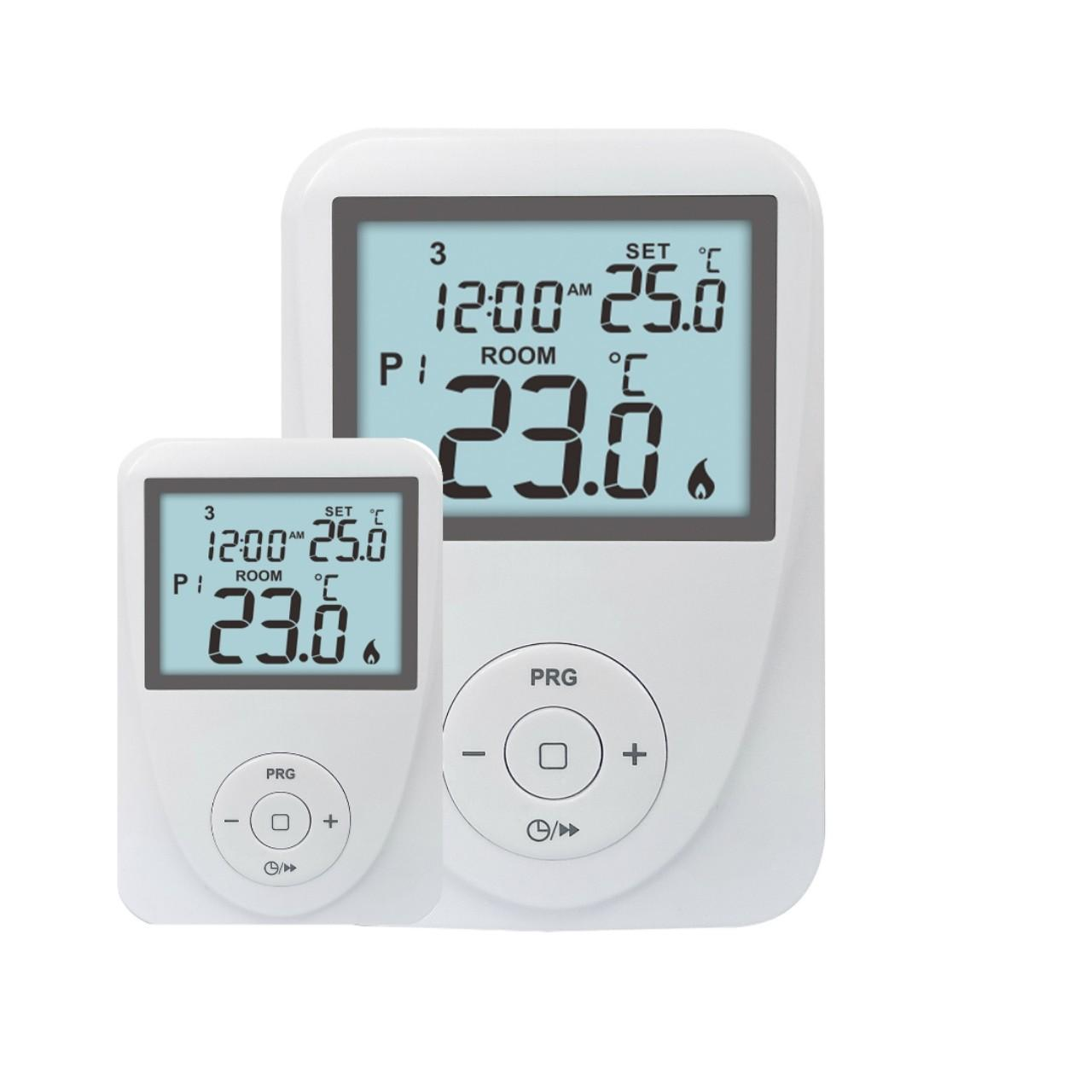 Buy cheap Large LCD Display Digital Room Gas Boiler Thermostat CE from wholesalers