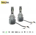 Buy cheap LED car headlight bulb, 72W 6000k 8000lm LED Car Headlight Bulbs , Car Headlight H15 Bulb Super White Upgrade Kit from wholesalers