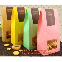 Buy cheap Customize Translucent Window, Brown Greaseproof Kraft Paper Bag, Special Opp Window Bag, window bags, paper window bags, from wholesalers