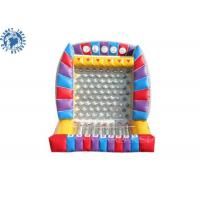 Buy cheap 0.55mm Plato PVC Tarpaulin Inflatable Carvinal Game Rental / Giant Inflatable product