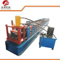 Buy cheap Mild Iron Sheet Storage Rack Roll Forming Machine , Shelf Upright Roll Forming Machine from wholesalers