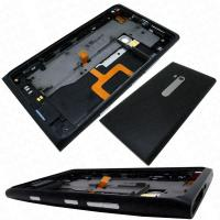 Wholesale nokia lumia 900 replacementrear housing cover headphone jack speaker buttons black origina from china suppliers