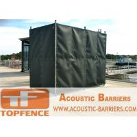Buy cheap Temporary Sound Barriers Fence Covered with Noise Blanket from wholesalers