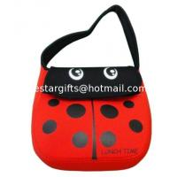 Wholesale Cute Cartoon Neoprene Lunch Tote Insulated For Kids With Shoulder Strap from china suppliers