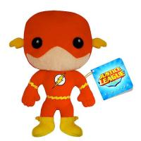 Red Kids Cartoon Plush Toys Justice League Flash Action Figure Manufactures
