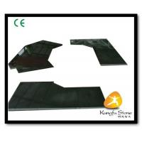 Xiamen Kungfu Stone Ltd supply Absolute Black Stone Countertops In High quality and cheap price Manufactures