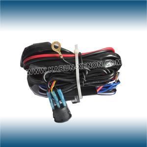 China 12V 24V LED Light Bar Wiring Harness on sale