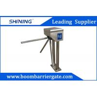 Wholesale Tripod Security Barrier Gate With 0.5M Pole , Swipe Card Door Entry Systems from china suppliers