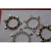 Buy cheap 2013 latest and hot sell christmas bracelets / gold plated metal casting jewelry for girls gift from wholesalers
