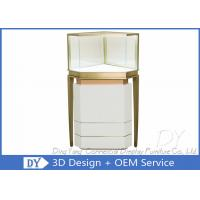 China Custom Lighting Corner Store Jewelry Display Cases With Cabinet on sale