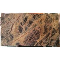 Buy cheap Decorative Rain Forest Brown Marble Slabs & Tiles from wholesalers