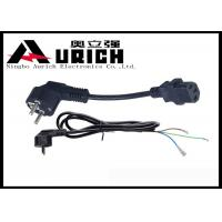 Buy cheap PE Sheathed European Power Cord For Laptop PC 16A 250V CEE7/7 Right Angel from wholesalers