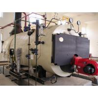 Three Pass Condensing Oil Heating Steam Boilers , Electric Or Natural Gas Boiler