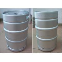 Buy cheap 50L German Beer Keg , Home Draft Keg Cylinder Shaped For Brewery from wholesalers