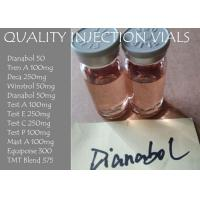 Wholesale Dianabol 50mg / ml Methandienone 50 Injectable Anabolic Steroids , Sex Enhancement Drugs from china suppliers