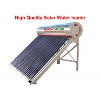 Wholesale Three Target All Glass Tube Solar Water Heater 58 X 1800 Mm Anti Corrosive from china suppliers