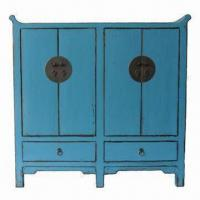 Buy cheap Antique Chinese Cabinet with 4 Doors and 2 Drawers from wholesalers