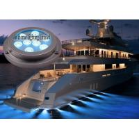 27W Blue 316 Stainless Steel LED Boat Lights Spotlight IP68 Boat floodlight Manufactures
