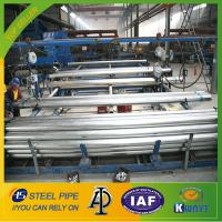 Buy cheap hot dipped galvanized steel pipe,BS1387 steel tube,220g/m2 zinc coating steel pipe from wholesalers