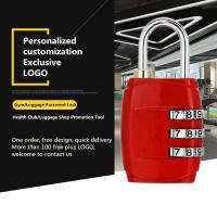 Buy cheap Customized Mechanical Password Padlock For Zipper / Storage Boxes / Gym Lockers from wholesalers
