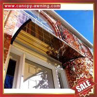 Buy cheap excellent house villa door window porch clear DIY PC polycarbonate Awning canopy awnings shelter canopies cover covers from wholesalers