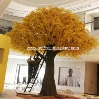 Wholesale Wood Autumn Artificial Ginkgo Leaves Non - Toxic Moisture - Proof from china suppliers