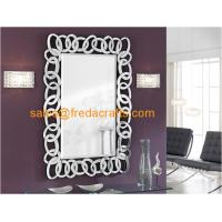 Buy cheap Modern hign quality plain luxury design chain liked shape venetian decorative wall mirrors wholesale from wholesalers