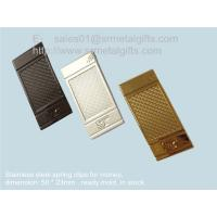 Buy cheap Wire spring metal clip for money and paper, wire spring steel money clips, from wholesalers