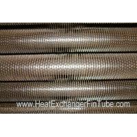 Buy cheap U Bent Welded Spiral Evaporator Tube , SA210 Gr. C SMLS Carbon Steel Tube from wholesalers