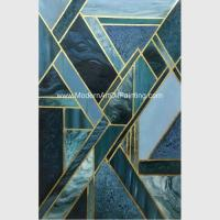 Buy cheap Contemporary Geometric Abstract Art Paintings For Star Hotels Decoration product