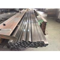 Buy cheap Engineering Frame Stainless Steel Square Pipe With 2b Surface Astm A312 from wholesalers