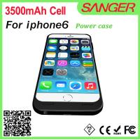 Buy cheap NEW!!! External battery for Iphone 6 battery pack power case charger for iphone 6 with high real capacity 3000mAh from wholesalers