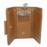 Wholesale Leather Key Wallet, Customized Specifications Accepted, Ideal for Promotional Purposes from china suppliers