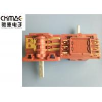 Wholesale Brass Terminals Oven Rotary Switch Red PA66 Metal Pins AC2 AC3 Color Optional from china suppliers