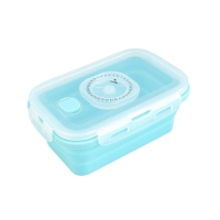 Buy cheap 4pcs Collapsible Silicone Food Storage Containers With Lid from wholesalers