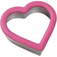 Buy cheap flower shaped tainless steel cookie cutter with silicone edge from wholesalers