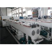 Buy cheap 150KG/H Capacity PVC Pipe Extrusion Line Dust / Chip Free Cutting System from wholesalers