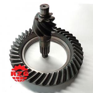 ISUZU NKR 6HH1 Rear Axle Transmission Gleason Spiral Bevel Gear Pinion And Crown Wheel Manufactures