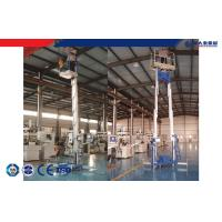 Buy cheap 220v 380v 200kg 12m Aerial Work Platform Single / Double Aluminum Mast product