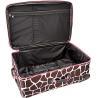 Buy cheap Softside 3-Piece Upright Luggage Set, Pink Giraffe from wholesalers