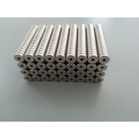 Buy cheap Industrial Ring Shape Rare Earth neodymium Magnets N Grade from wholesalers