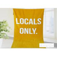 Buy cheap Soft Fast Dry Personalized Beach Towels Monogrammed For Adults , Full Color Reactive Printed from wholesalers
