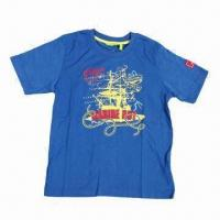 Buy cheap New T-shirt Design for Kids, Children's Clothes, Ready Made Goods Available, Brand Kids' Wear from wholesalers
