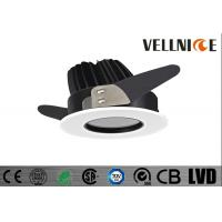Buy cheap IP65 Good Layout Design LED Recessed Light Trim With 10W Cut out 83mm COB LED CRI80/R3B0626 from wholesalers