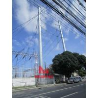 Buy cheap Corner Run Steel Pole for overhead power tranmission from wholesalers