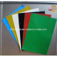 Buy cheap Colour PVC Magnetic Sheet product
